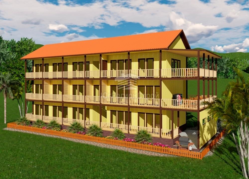 Готовые проекты мини гостиниц фото